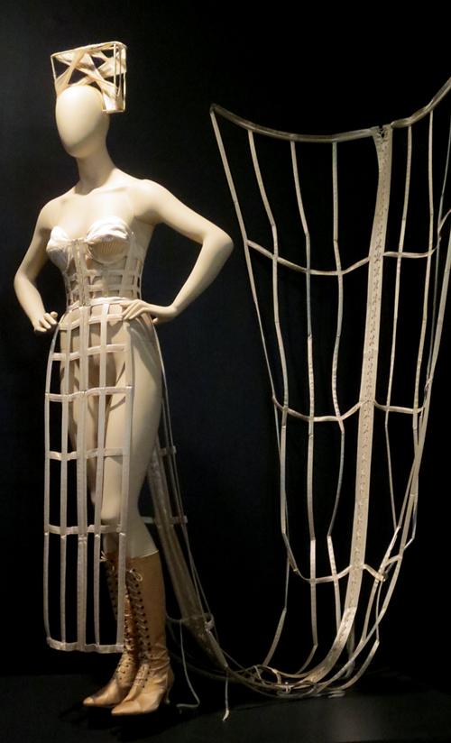 Gaultier exhibit bondage mannequin