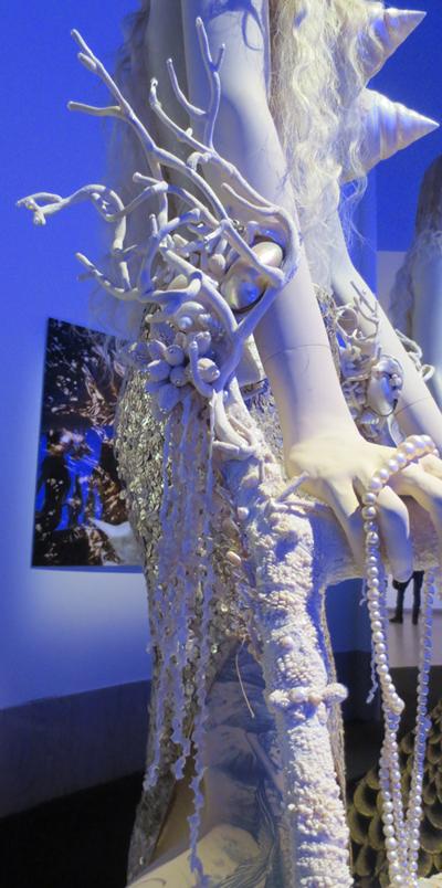 crippled disabled mermaid Gaultier Brooklyn museum
