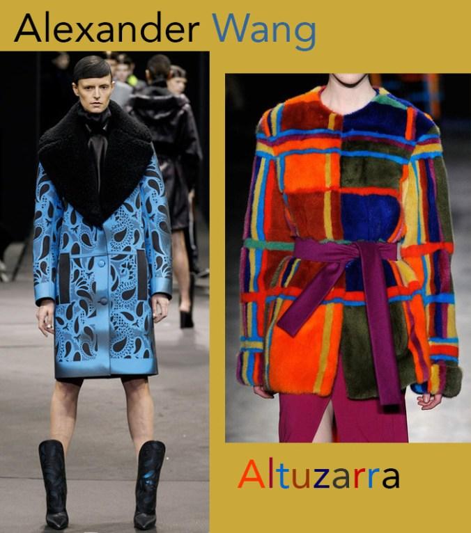 Alexander Wang - Altuzarra coats Fall 2014