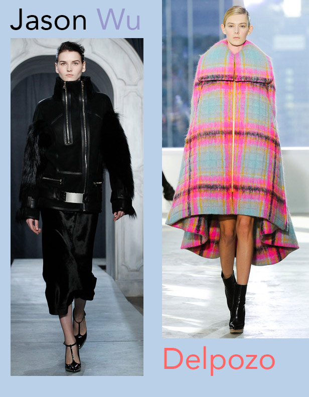 Jason Wu and Delpozo coats for Fall 2014