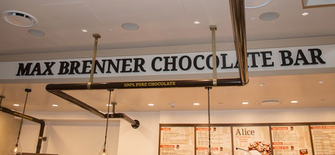 100% chocolate at Max Brenner
