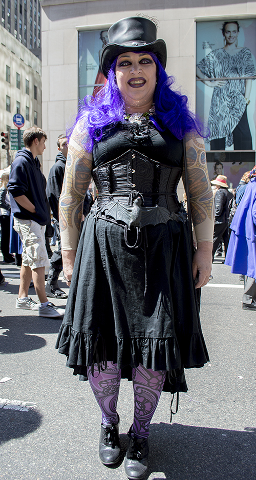Some people never outgrow Goth. That works for me.