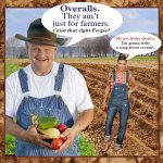 The Overalls trend:  Not just for farmers