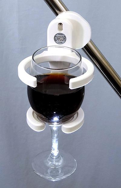 wheelchair wine holder device