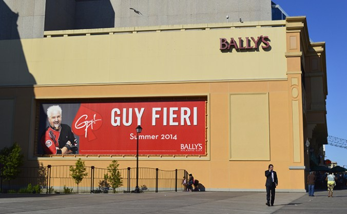 Guy Fieri billboard Atlantic city, NJ