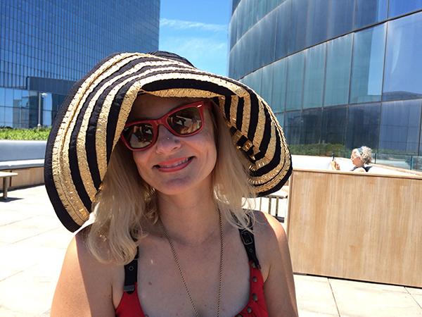 Magda sun hat revel hotel atlantic city nj