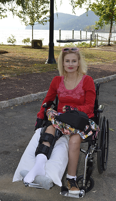 Wheelchair disabled blogger NY