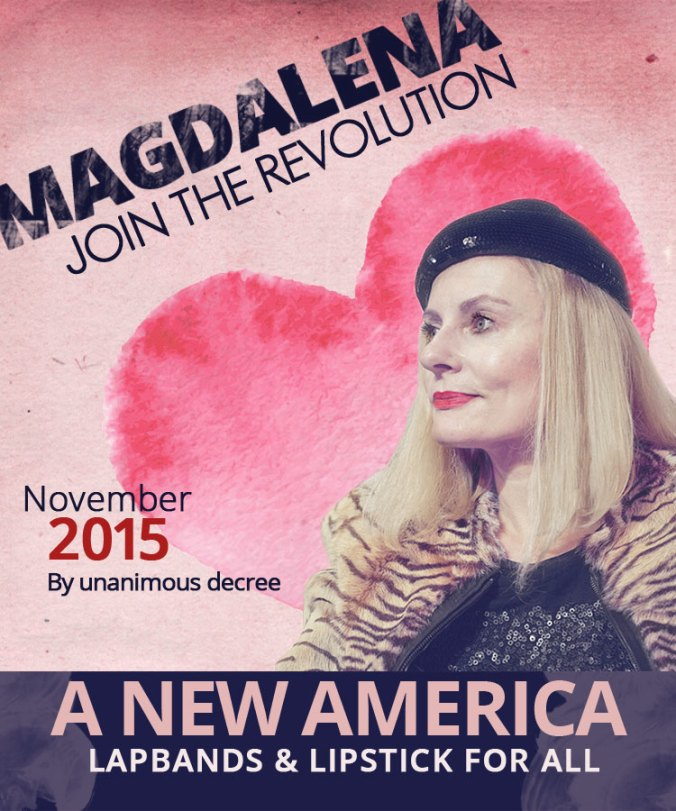 Magdalena - first dictator of the USA