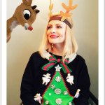 Roasting Rudolph the Red Nosed Reindeer in an Ugly Christmas Sweater