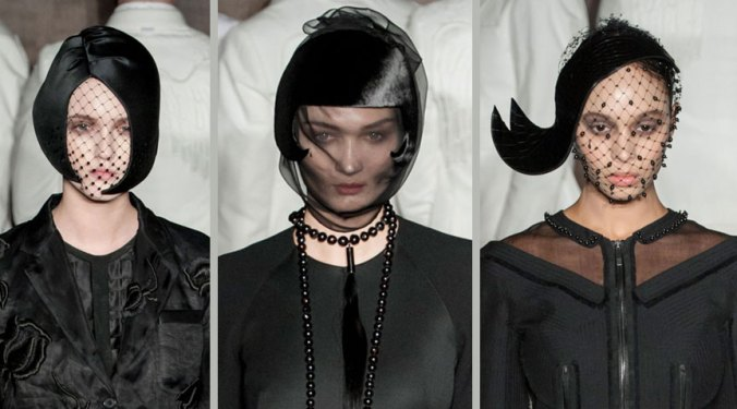 Thom Browne hats for fall 2015 NY fashion Week