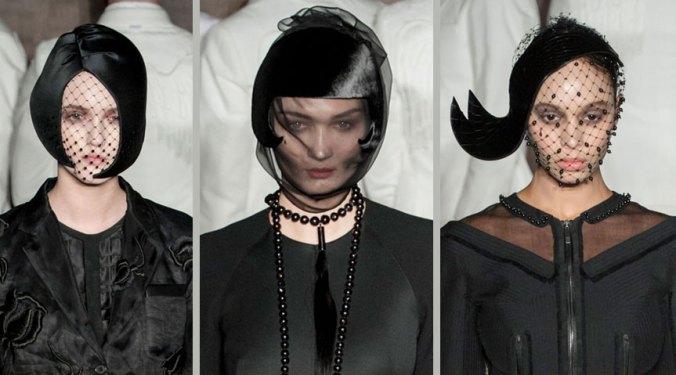 Thom Browne hats for fall 2015 NY fashion Week