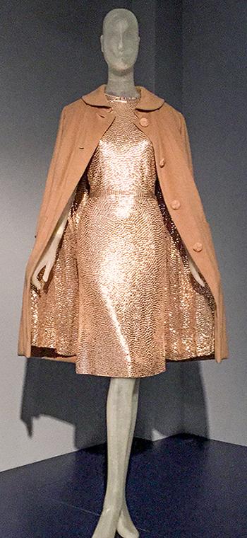 Norman Norell eveningset - Lauren Bacall FIT exhibit