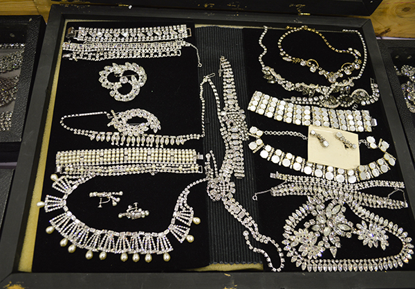 Costume rhinestone jewelry from Vintage Gems