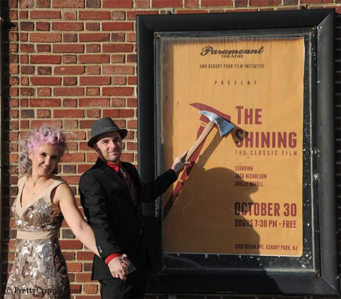 The Shining movie poster at Paramount Theater Asbury Park