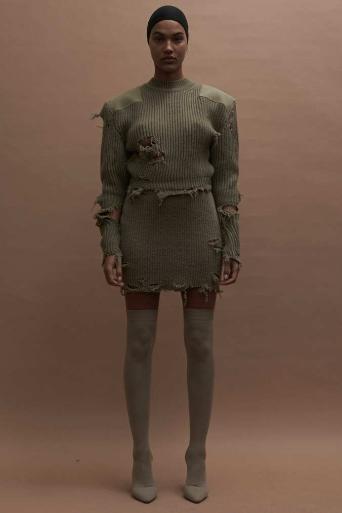 Yeezy fall 2016 ensemble Kanye West