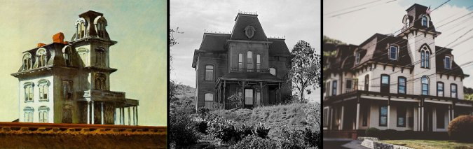 Edward Hopper house by the Railroad - Psycho house and House in Haverstraw, NY
