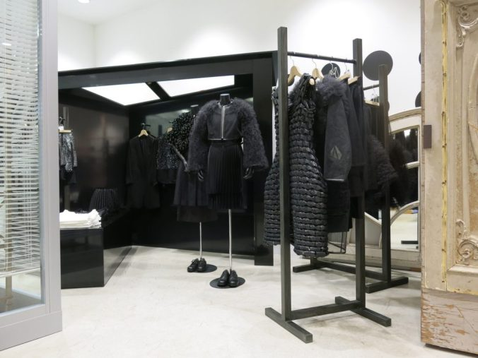 Noir Kei Ninomiya section at Dover Street Markey NYC
