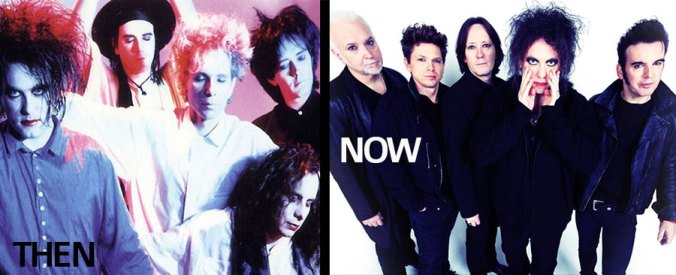 The Cure - Then and Now