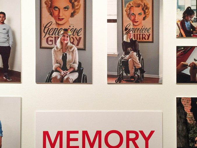 Parsons Dress And Emotion exhibit - pretty cripple