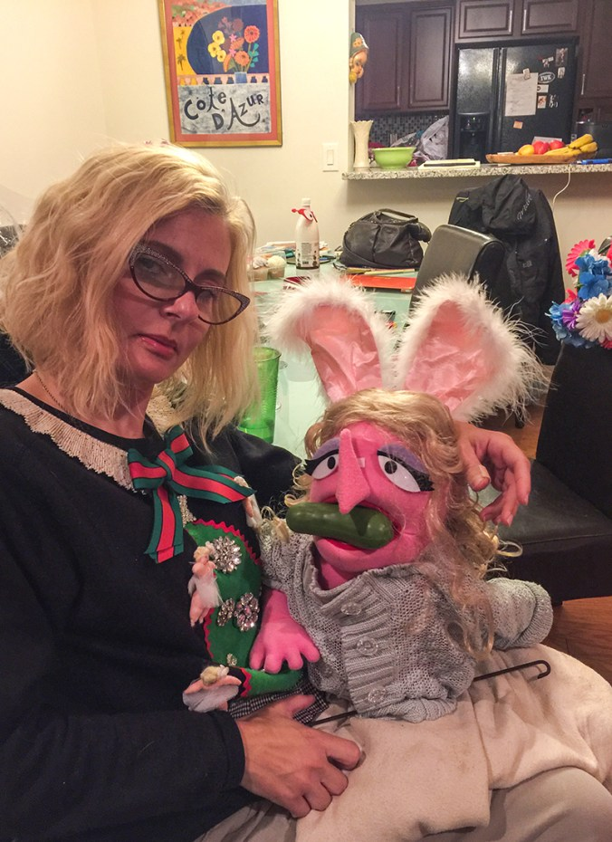 disabled blogger and her muppet Fontina