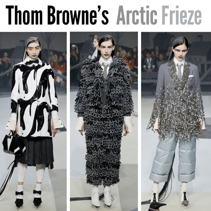 Thom Browne Fall 2017 runway show