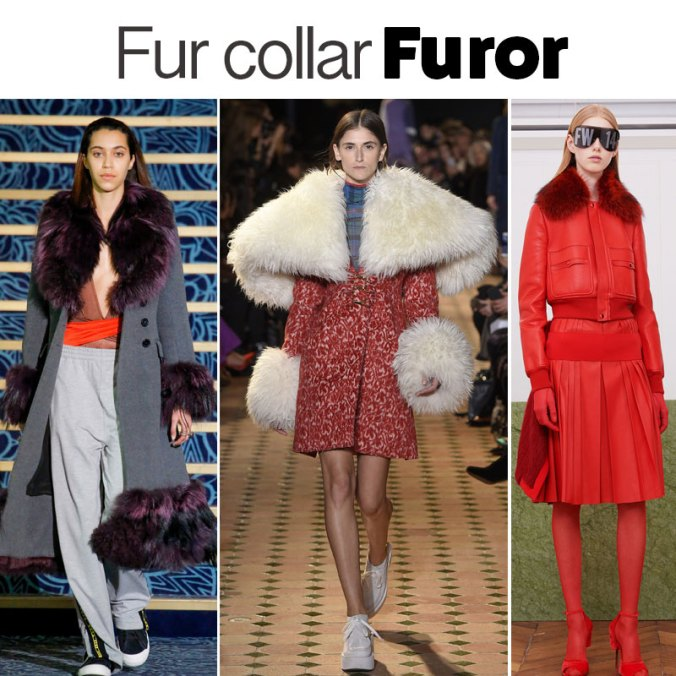 Fur trends fall 2017 Paris