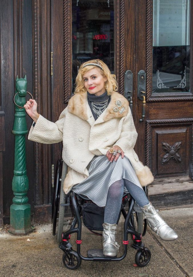 Silver trend wheelchair fashion