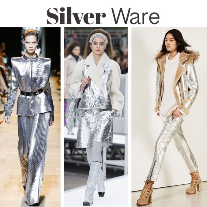 Silver fashion trends 2017