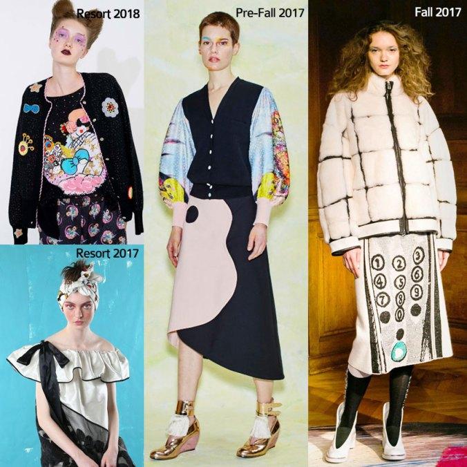 Tsumori Chisato fashion board
