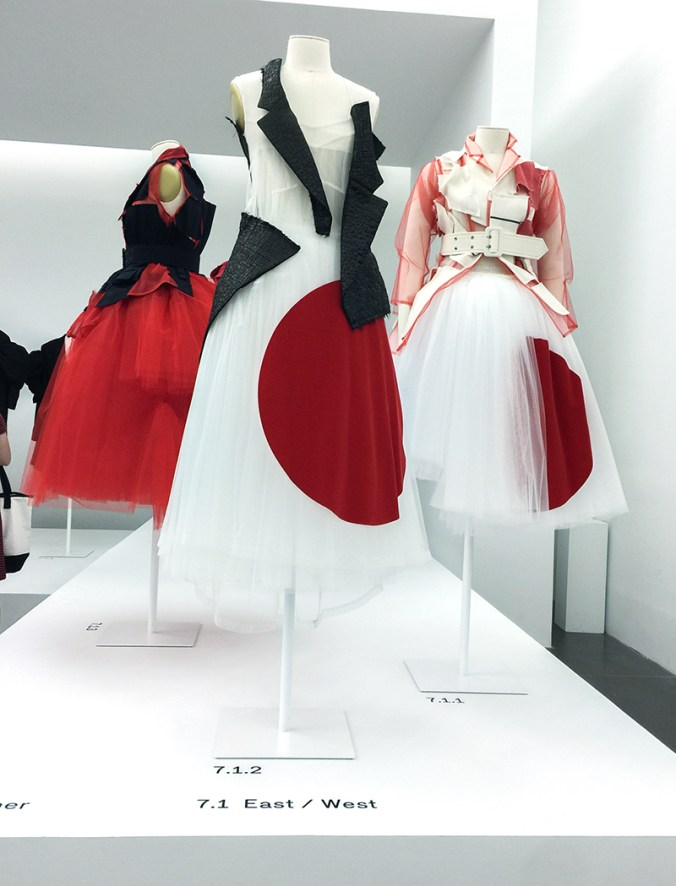 "Comme des garcons at the Met ""East meets West"""