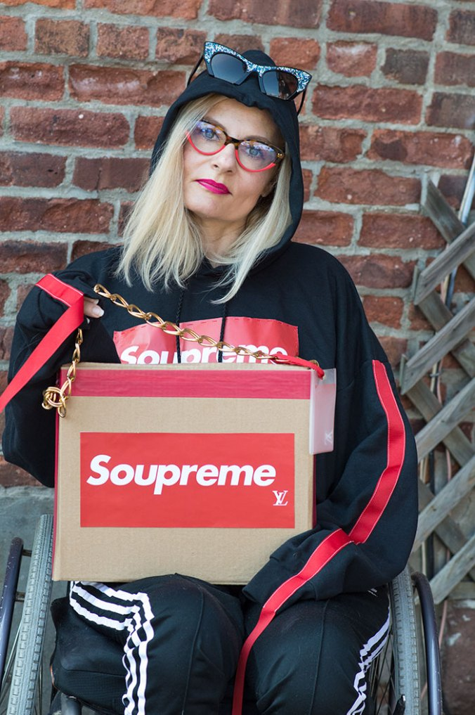 DIY Supreme customized designer handbag