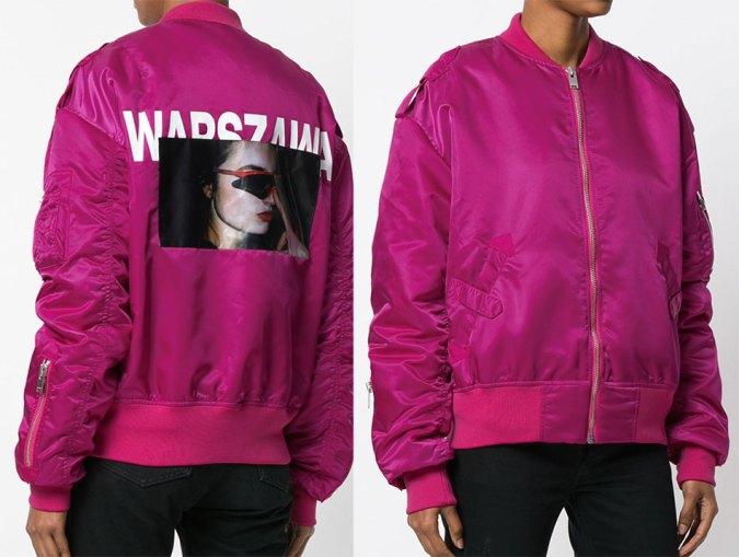 misbhv pink bomber jacket
