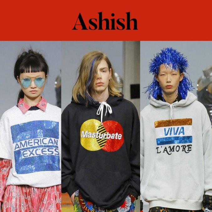 Ashish fall 2018