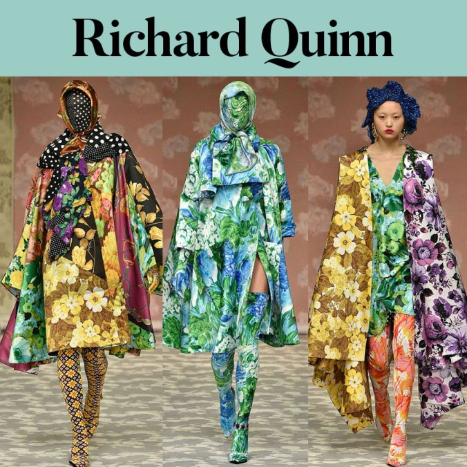 Richard Quinn fall 2018