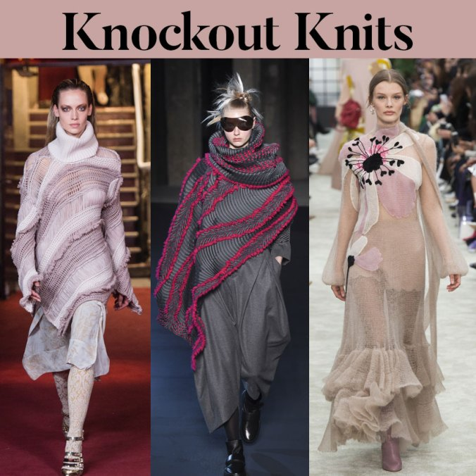 knitwear paris fashion week fall 2018