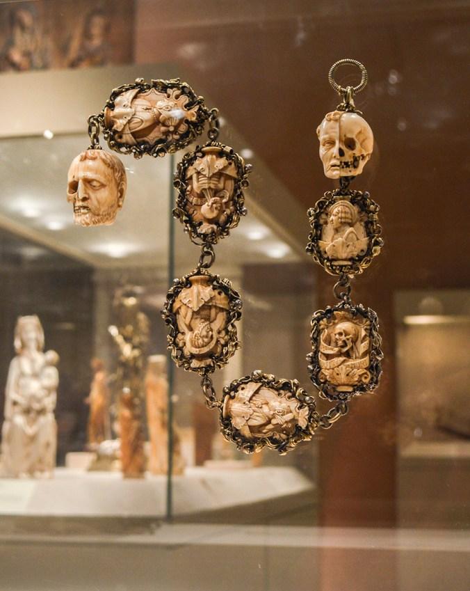 German rosary beads from the Heavenly Bodies Met exhibit