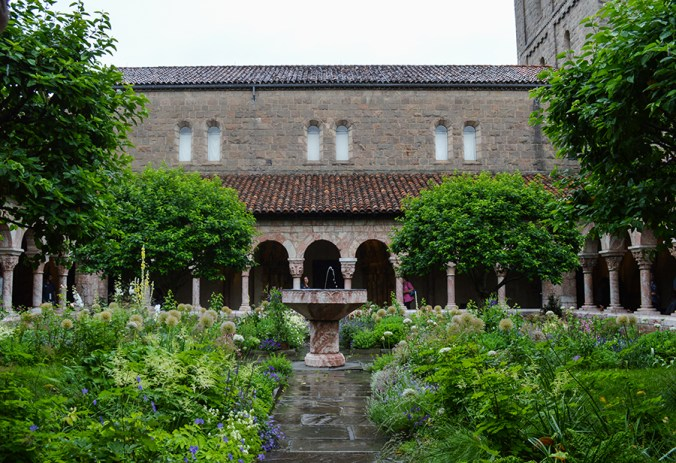 The cloisters outdoors