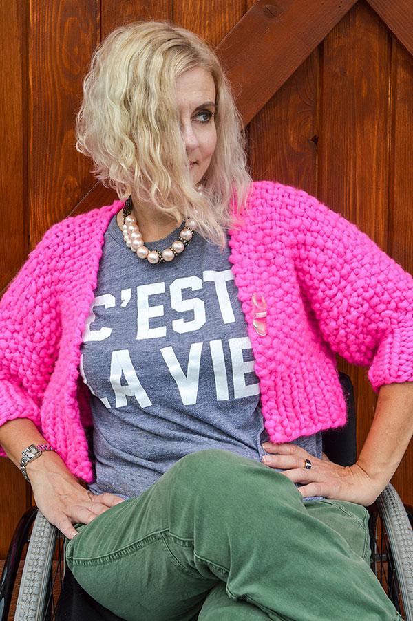 Wheelchair Fashion Blogger It's Paris Fashion Week