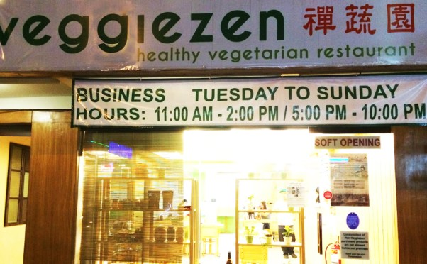 CHECK THIS OUT: Vegetarian Chinese at VeggieZen