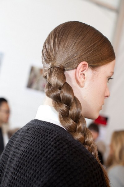 Traditional Braid Hairstyle