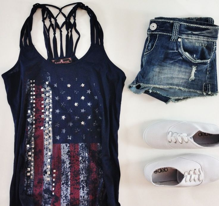 Fun Amp Interesting American Flag Print Clothing Styles