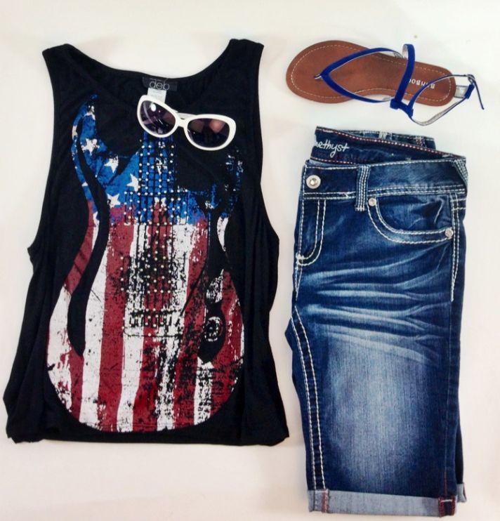 Fun Amp Interesting American Flag Print Clothing Styles