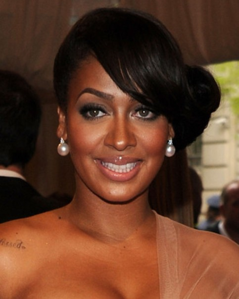 La La Anthony Long Hairstyle Pretty Chignon Pretty Designs
