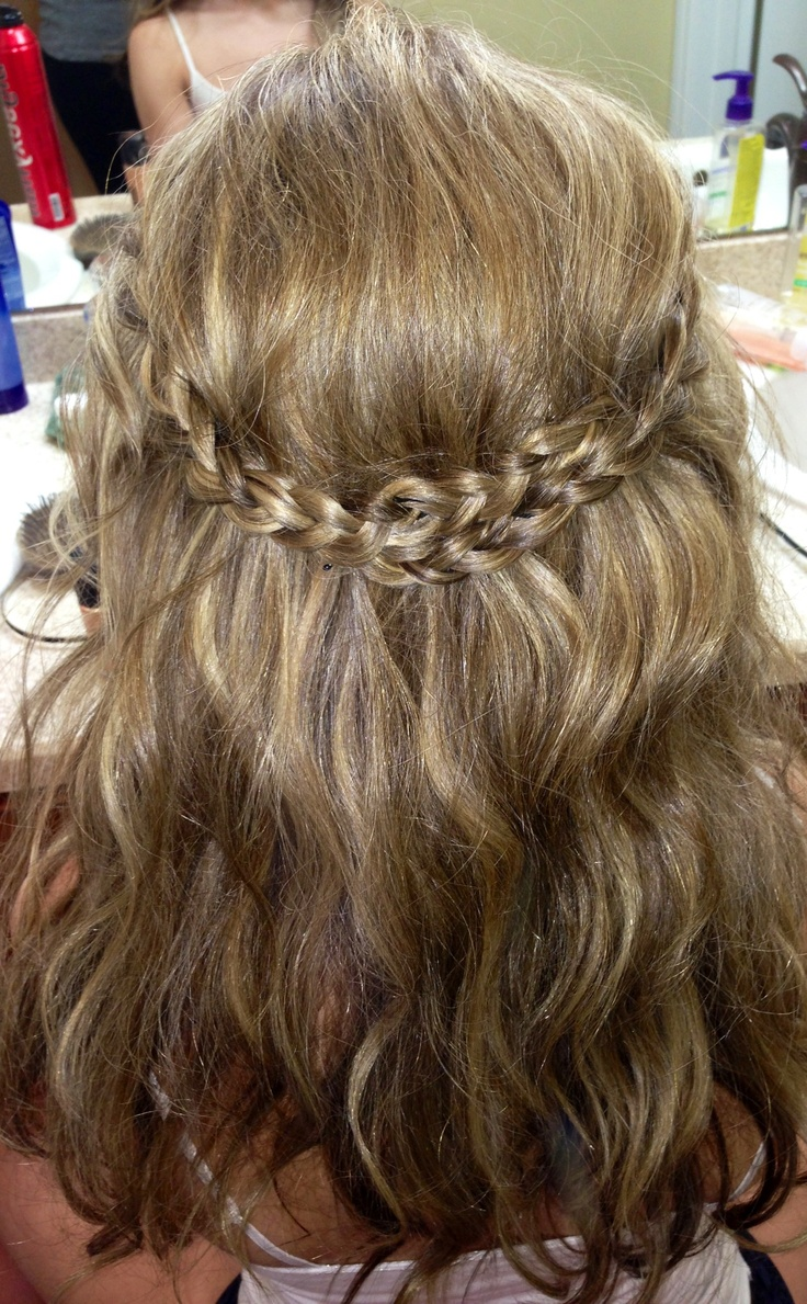 15 Crown Braid Hairstyle Designs You Must Love Pretty