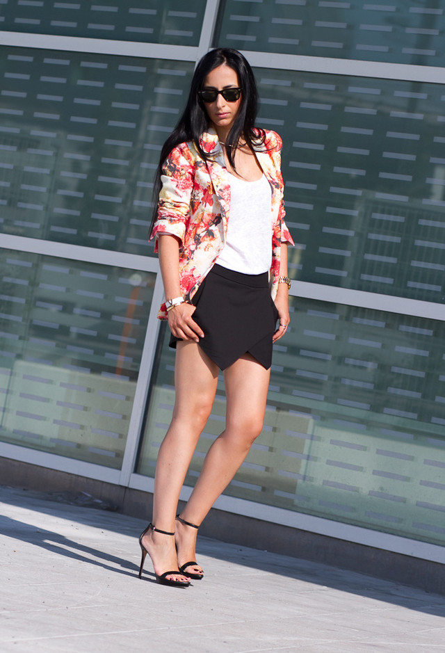 Floral Blazer Outfits For Womens Wardrobe Pretty Designs