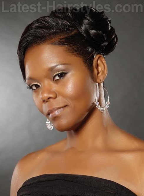 12 Glamorous Wedding Hairstyles For African American Women