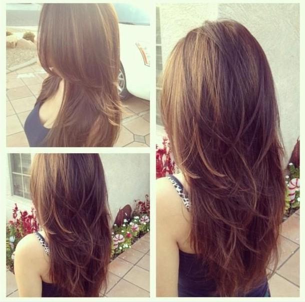 Choppy Layers Haircuts For Long Hair