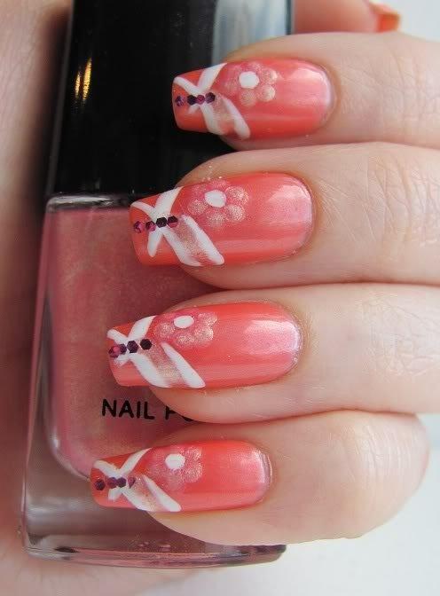Amazing Coral Nail Designs For The Season Pretty Designs