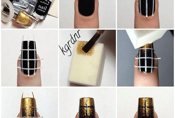 Nail Tutorials Make Arts With Sponge Pretty Designs