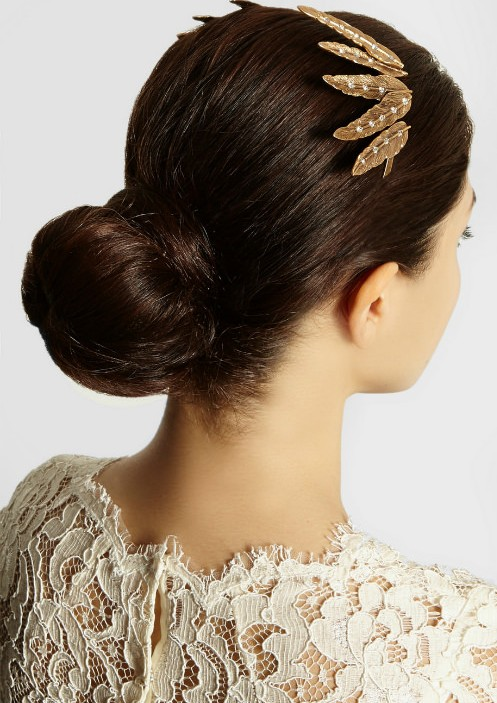 11 Beautiful Hairstyles With Hair Accessories For 2014